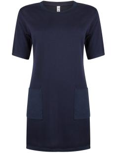 knitted dress kn1904 zoso jurk navy