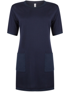 Zoso Jurk KNITTED DRESS KN1904 NAVY