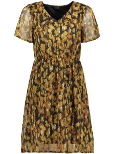 vmwonda s/s short dress pi 10217165 vero moda jurk black/mary ann