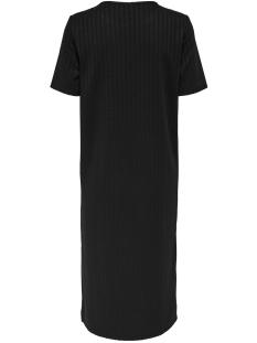 jdyrosie s/s loose dress jrs 15174252 jacqueline de yong jurk black