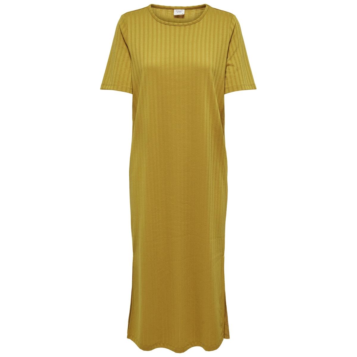 jdyrosie s/s loose dress jrs 15174252 jacqueline de yong jurk tawny olive
