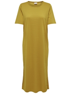 Jacqueline de Yong Jurk JDYROSIE S/S LOOSE DRESS JRS 15174252 Tawny Olive