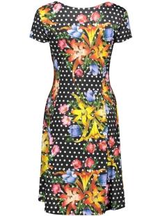 dot flower dress 3220 iz naiz jurk multi color