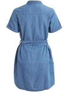 objcamilla 2/4 dress 102 23028922 object jurk medium blue denim