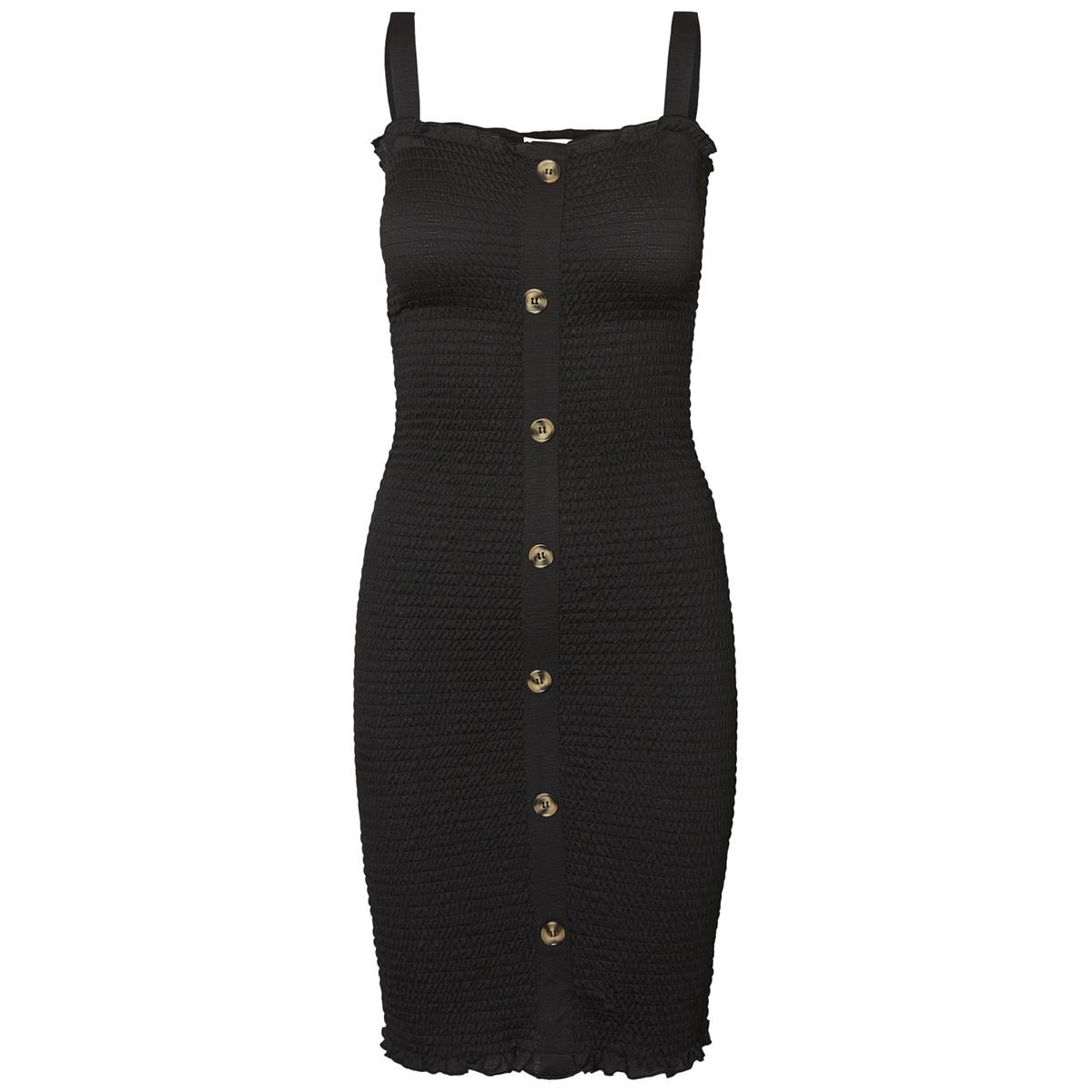 nmlea s/l smock dress 4h 27007086 noisy may jurk black