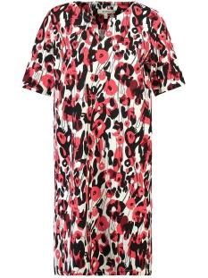 rode jurk met all over print d90286 garcia jurk 3363 tomato puree