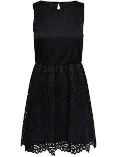 Only Jurk ONLEDITH S/L DRESS JRS NOOS 15173867 Black