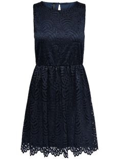 Only Jurk ONLEDITH S/L DRESS JRS NOOS 15173867 Night Sky