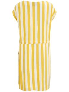 objbay dallas s/s dress aop  season 23029254 object jurk maize/w. white stripes