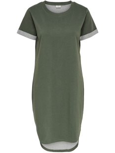 Jacqueline de Yong Jurk JDYIVY S/S DRESS JRS 15174793 Thyme