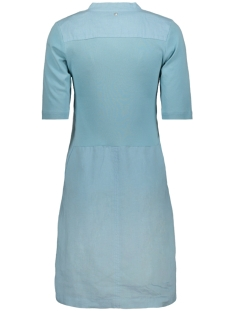 linnen jurk met v hals 23001536 sandwich jurk 41010