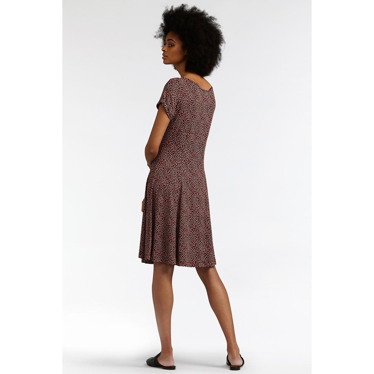 zwierige jurk met print 23001559 sandwich jurk 20145