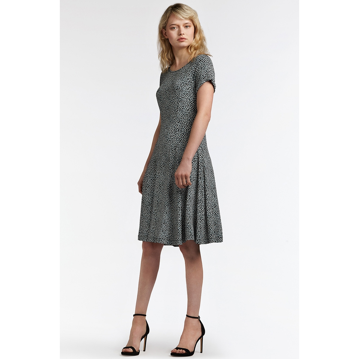 c4b537ca354911 ... zwierige jurk met print 23001559 sandwich jurk 41010 ...