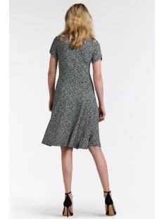 zwierige jurk met print 23001559 sandwich jurk 41010