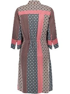 zwierige patchwork jurk 23001576 sandwich jurk 20145