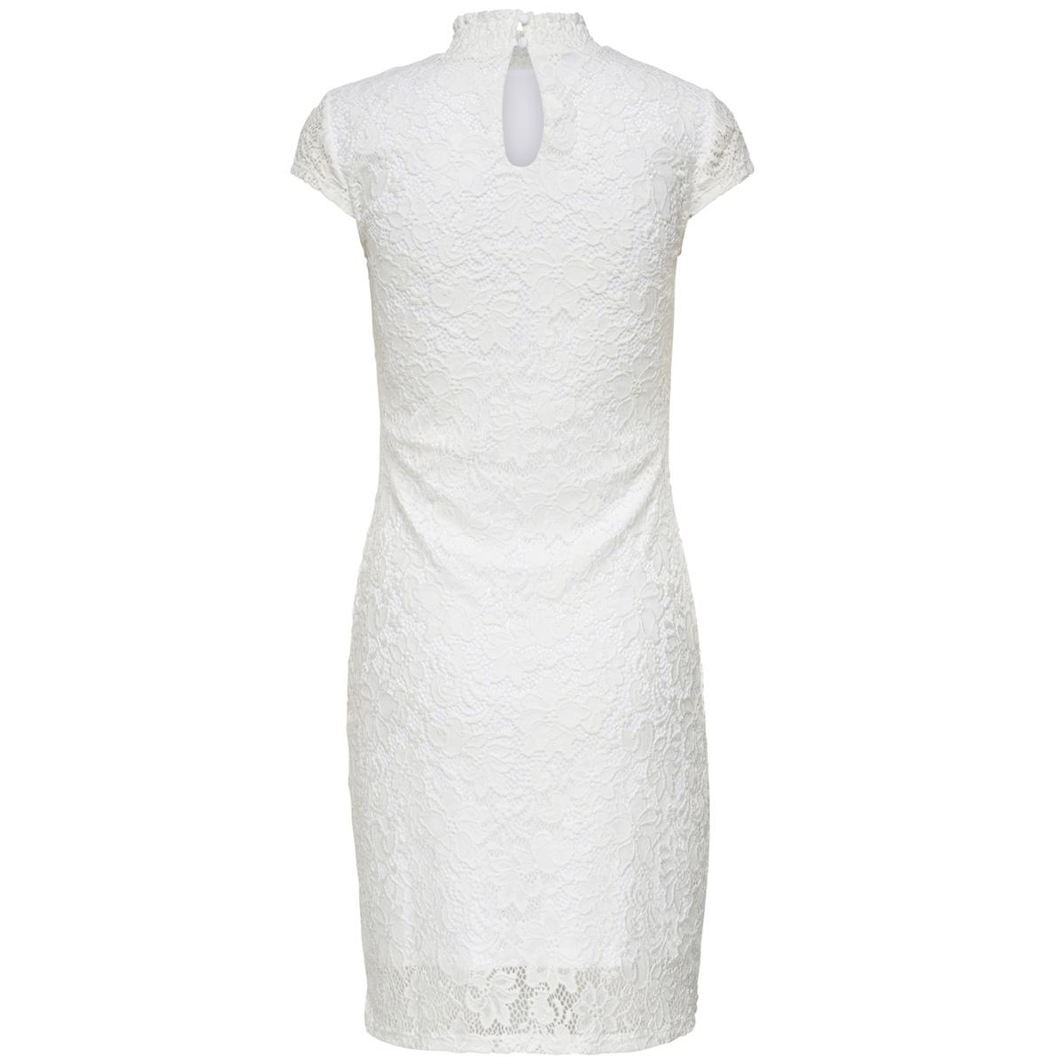 onlalba s/s bodycon dress jrs 15173874 only jurk cloud dancer