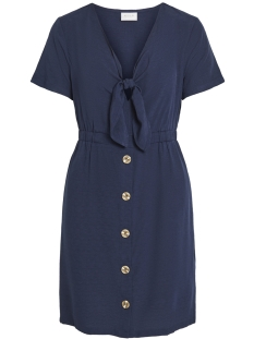 vimani s s dress 14053188 vila jurk navy blazer