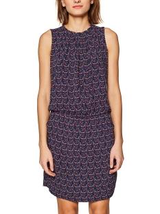 blousejurk me kleurrijke print 049cc1e012 edc jurk c400 navy