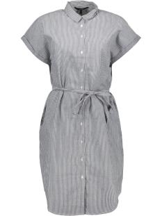 Vero Moda Jurk VMJANE SL ABK SHIRT DRESS WVN KI 10210355 Snow White/ NIGHT SKY