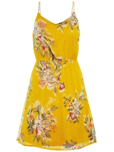 Vero Moda Jurk VMWONDA SINGLET SHORT DRESS EXP 10166410 Lemon Curry/Lea