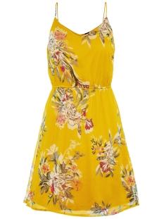 vmwonda singlet short dress exp 10166410 vero moda jurk lemon curry