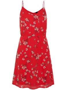 vmwonda singlet short dress exp vero moda jurk chinese red/eliza