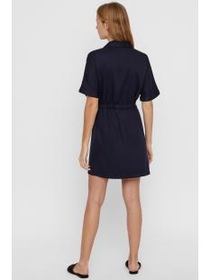 vmharper ss short wrap dress 10214418 vero moda jurk night sky