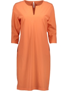 Zoso Jurk MANON TRAVEL BASIC DRESS 192 SALMON