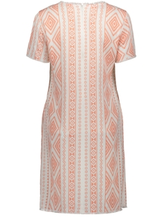 linen dress 0419-0454 smith & soul jurk coral