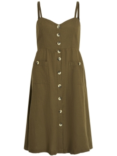 Vila Jurk VIKALUNA DRESS TB/KI 14052448 Dark Olive