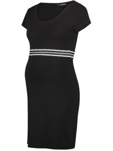 SuperMom Positie jurk DRESS SS ELASTIC S0984 BLACK