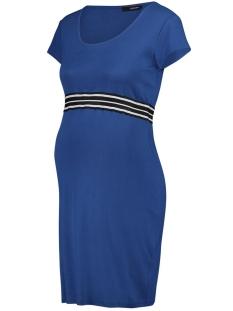 SuperMom Positie jurk DRESS SS ELASTIC S0984 MONACO BLUE