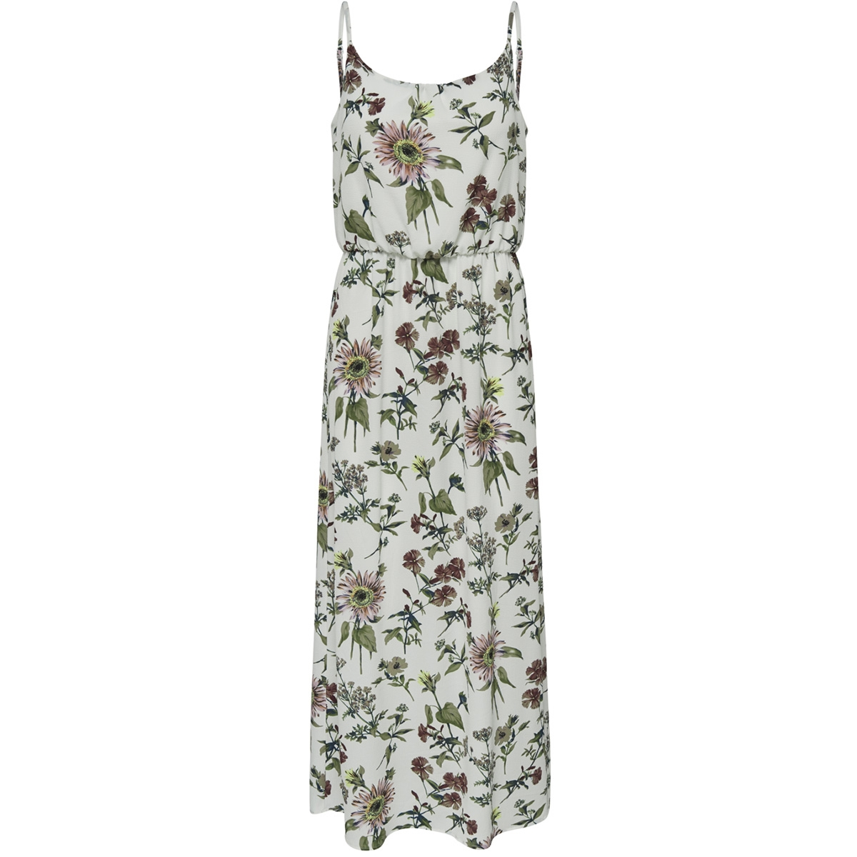 onlwinner sl maxidress noos wvn 15177381 only jurk cloud dancer/botanical