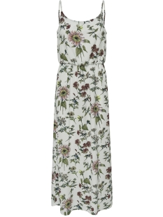 Only Jurk ONLWINNER SL MAXIDRESS NOOS WVN 15177381 Cloud Dancer/BOTANICAL