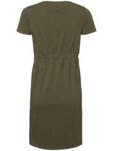 mlannabell s/s jersey short dress a 20009730 mama-licious positie jurk ivy green