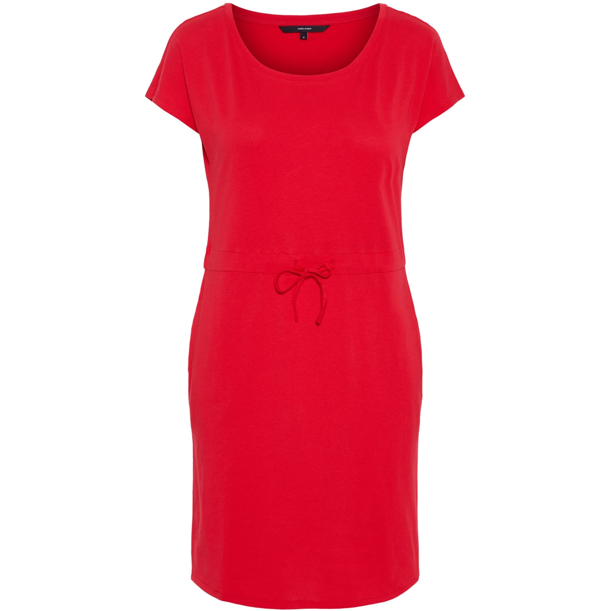 vmapril ss short dress ga color 10213298 vero moda jurk chinese red