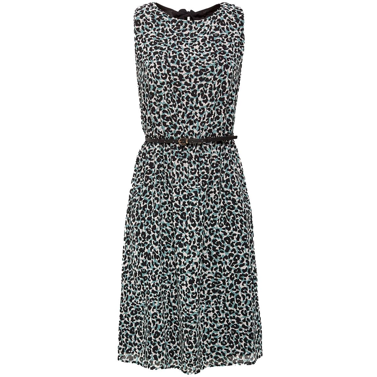 chiffon jurk met strik 049eo1e035 esprit collection jurk e335