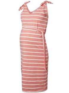 Mama-Licious Positie jurk MLANNETTA S/L JERSEY KL DRESS A. V. 20009882 Dubarry/Snow White