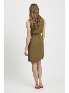 viamona s/l dress 14052580 vila jurk dark olive