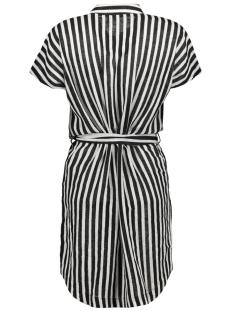 nmmai s/s shirt dress 3 27006730 noisy may jurk black/sugar swiz