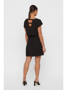 vmsasha bali s s short dress noos 10215413 vero moda jurk black