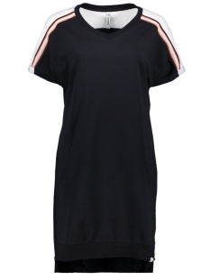 Zoso Jurk SASKIA SPORTY DRESS WITH PIPING 192 NAVY SALMON