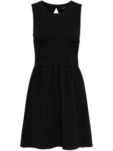 Only Jurk ONLNIELLAANNE S/L BACK OPEN DRESS B 15188868 Black