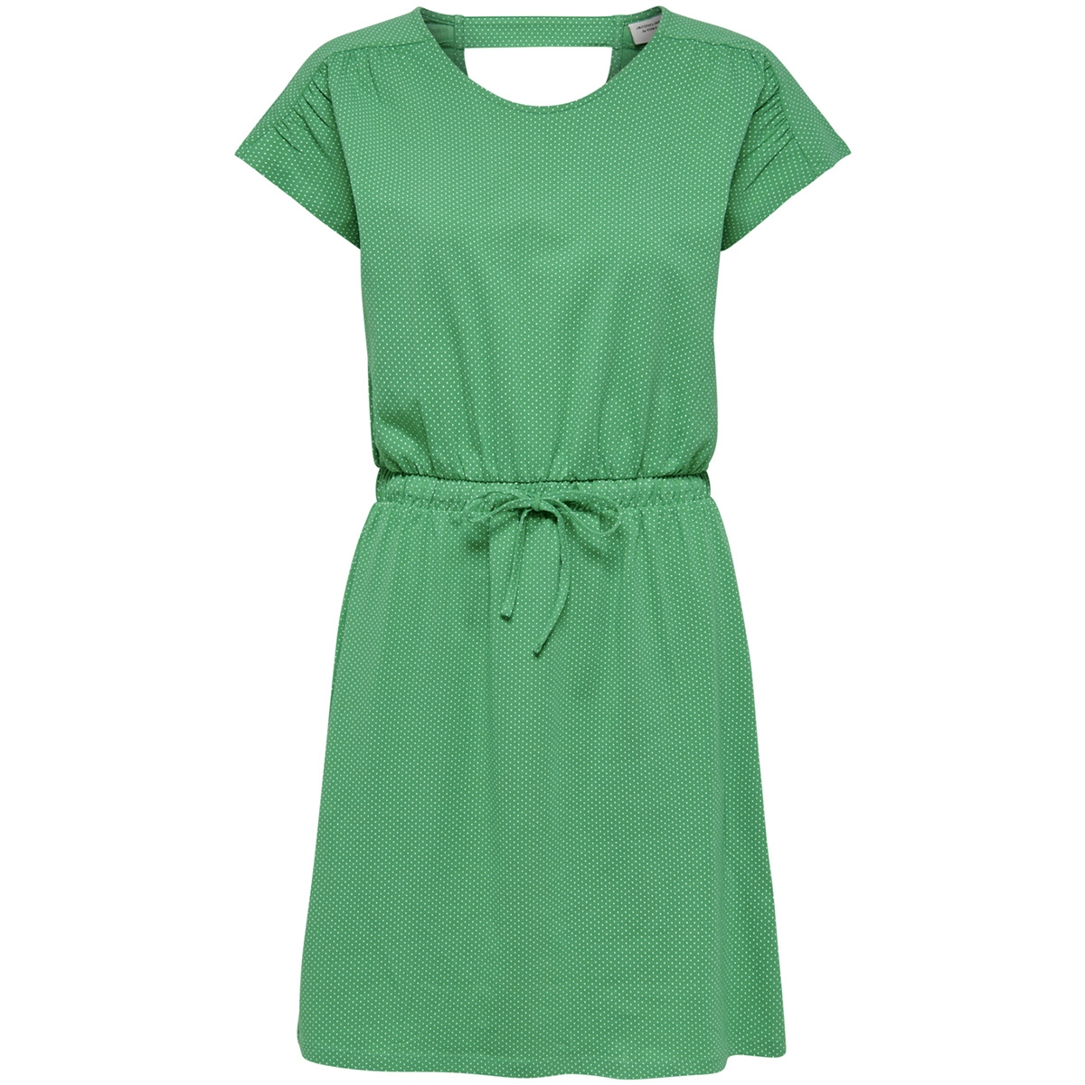 jdybillie treats aop s s knee dress 15174384 jacqueline de yong jurk simply green/mini dot a