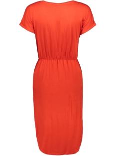 nmnola s/s dress 4b 27007176 noisy may jurk fiery red