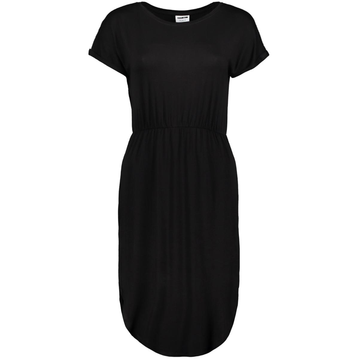 nmnola s/s dress 4b 27007176 noisy may jurk black