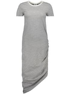 nmcilla ola draped dress  3 27006615 noisy may jurk black/suger swiz