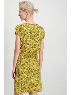 gele jurk met taillekoord e90089 garcia jurk 3065 sulphur