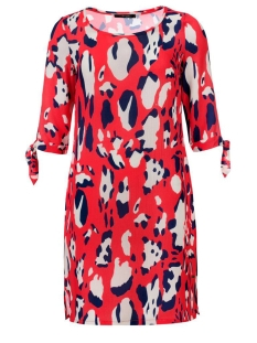 Dayz Jurk TAMARA DRESS ANIMAL RED
