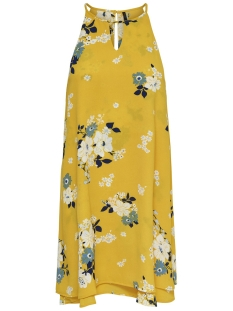 Only Jurk onlMARIANA MYRINA S/L DRESS NOOS WV 15138771 Vibrant Yellow/MIE FLOWER